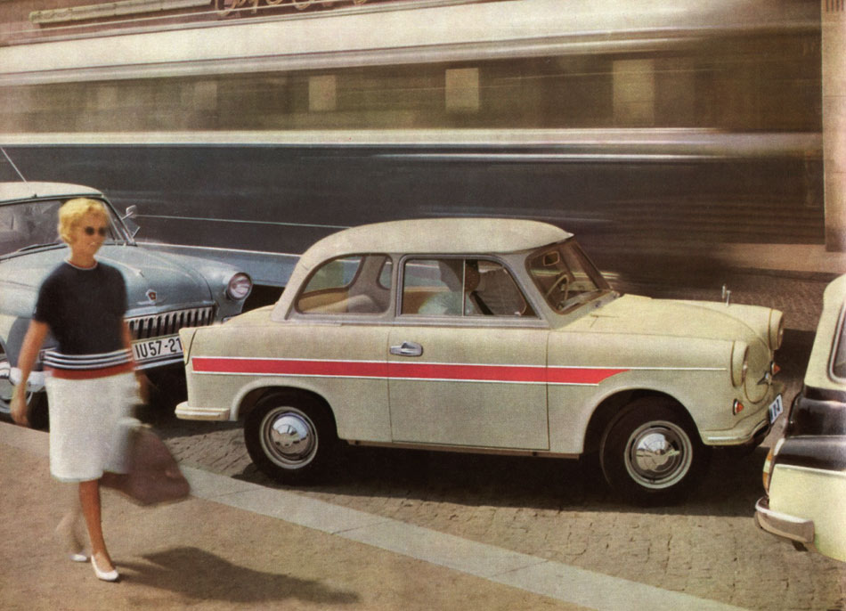1963 - Trabant 600 Limousine und Kombi
