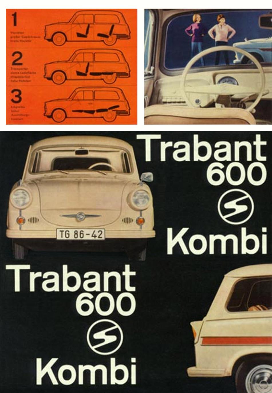 1964 trabant 600 kombi. Black Bedroom Furniture Sets. Home Design Ideas